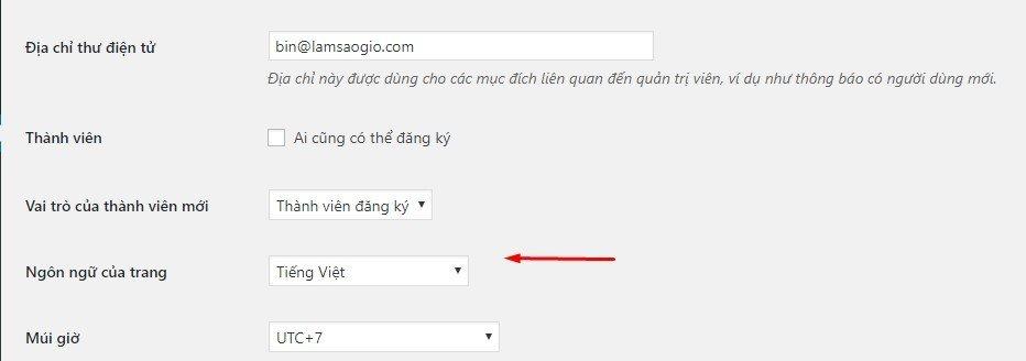 cai dat ngon ngu cho website