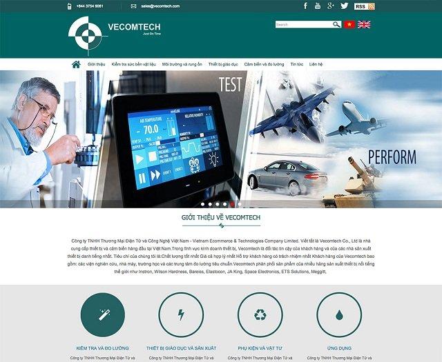 thiết kế website công ty chuyên nghiệp