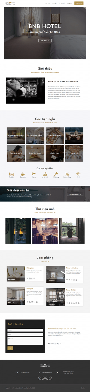 website-bnb-hotel