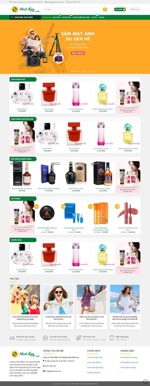 Website thương mại điện tử 1