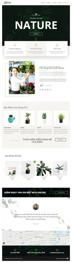 website-ban-cay-canh