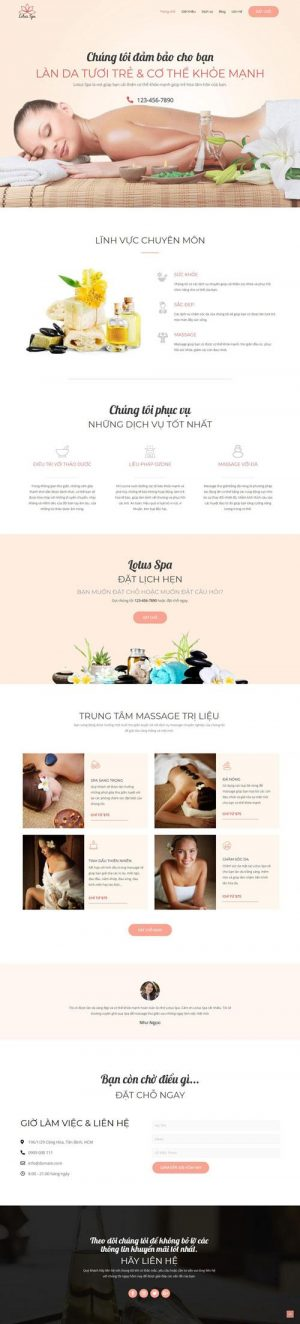 website-spa-lam-dep