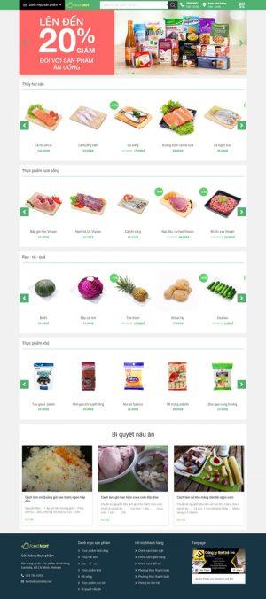 web-site-ban-thuc-pham-foodmart